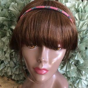 Pink Pewter Accessories - 🌺🌺 Pink Pewter Joyce Beaded Headband